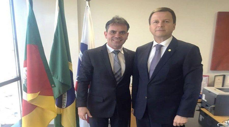 Presidente da OAB/RO se reúne com Claudio Lamachia no Conselho Federal