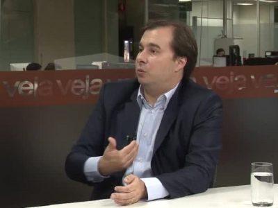 Maia defende que Alexandre de Moraes terá isenção para julgar Lava-Jato
