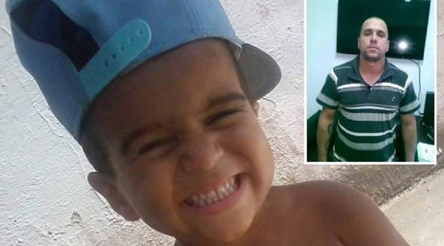 Pai mata filho de 5 anos porque criança não queria comer