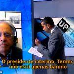 Ex-presidente FHC é entrevistado pela Al Jazeera