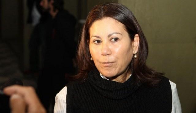 RAFAEL ARBEX/ESTADÃO CONTEÚDO -31.07.2016 A Delegada Elisabete Sato, é vista na sede da corporação, em São Paulo, neste domingo (31) após libertação da vítima