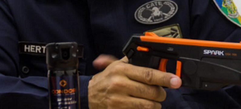 PM de Rondônia vai usar armas de choque nas ruas