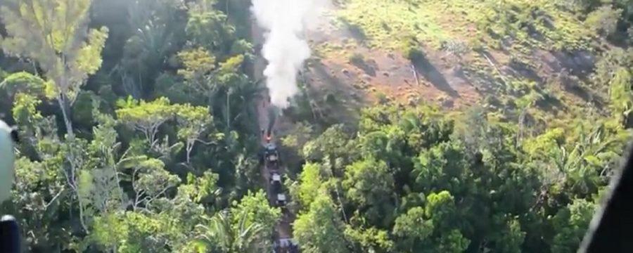 Invasores atiram contra PM em Seringueiras; veja vídeo da operação