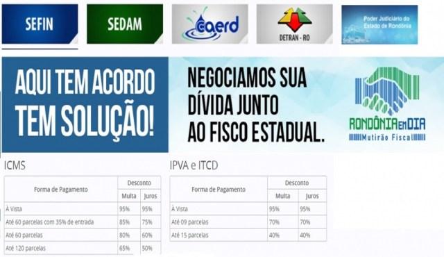A Fecomércio-RO informa aos empresários sobre o I Mutirão de Negociação Fiscal