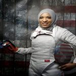 Esgrimista será a 1ª atleta dos EUA a competir com véu