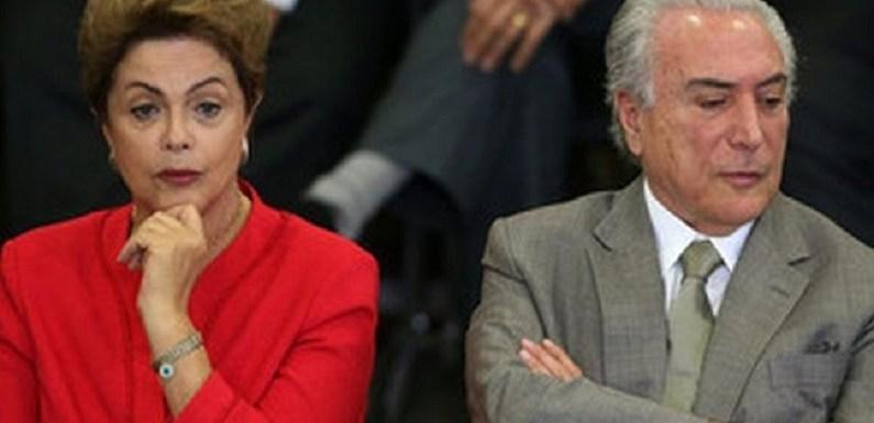 Odebrecht diz que 80% da verba da chapa Dilma/Temer não foi contabilizada