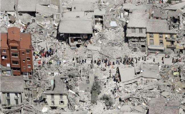 Já são 73 os mortos em terremoto na Itália