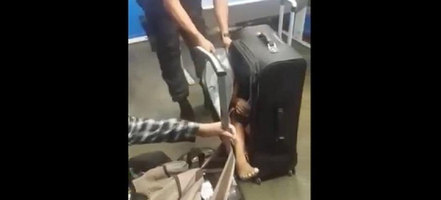PM encontra criança dentro de mala na Rodoviária Novo Rio
