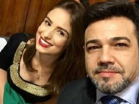 Patricia Lelis e Marco Feliciano
