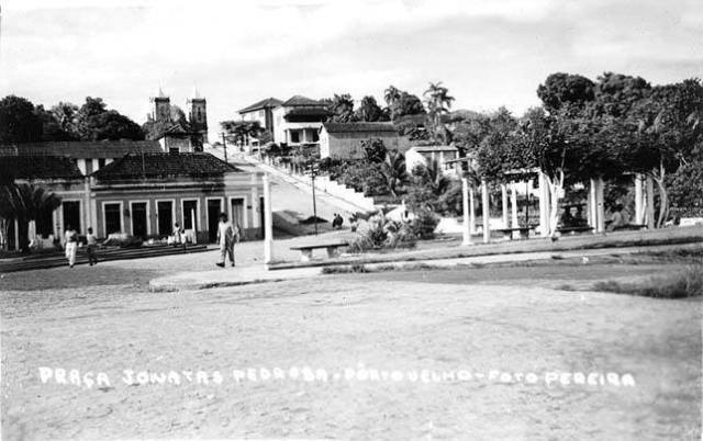 Imagem da praça Jonathas Pedrosa