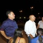 Maurão de Carvalho e Confúcio Moura visitam Parque da Baixada, em Jaru