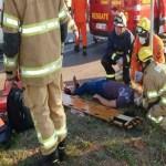 Acidente entre dois ônibus deixa 12 feridos no DF