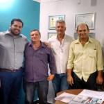 Jean Oliveira recebe a visita do prefeito eleito de Pimenteiras