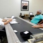 Vereador eleito de Candeias se reúne com presidente da Assembleia