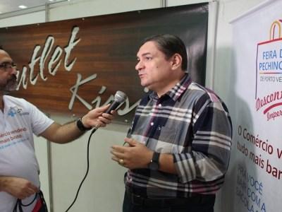 Presidente da Fecomércio detaca o sucesso da Feira da Pechincha