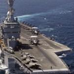 Hackers chineses atacam porta-aviões dos EUA