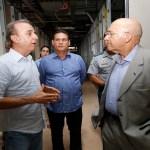 Maurão de Carvalho visita obras do Hospital de Câncer da Amazônia