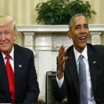 Trump e Obama se reúnem na Casa Branca e discutem transição