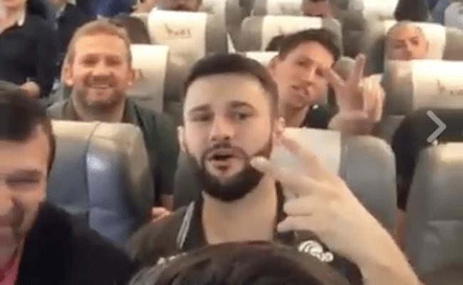 Vídeo no Facebook mostra os últimos momentos da equipe do Chapecoense no voo