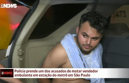Suspeito de matar ambulante que defendeu travesti é preso no interior de SP