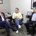 Maurão de Carvalho se reúne com o prefeito eleito de Porto Velho