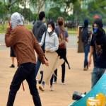 STF julgará lei que proíbe máscaras em protestos