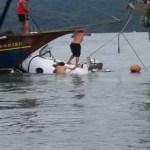Bombeiros localizam três corpos dentro do avião que caiu em Paraty