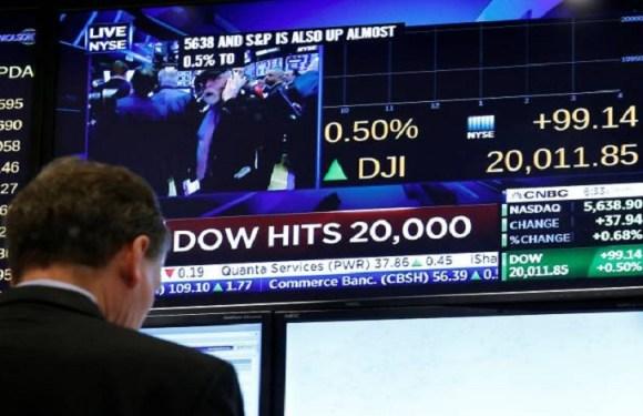Otimismo com Trump faz Bolsa de NY bater recorde histórico