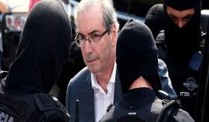 Na prisão, Cunha critica ex-aliados que disputam presidência da Câmara