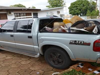 Dono de lava jato é preso furtando 400 litros de gasolina de caminhão