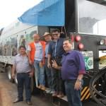 Maurão de Carvalho acompanha lançamento do programa asfalto novo no Cone Sul