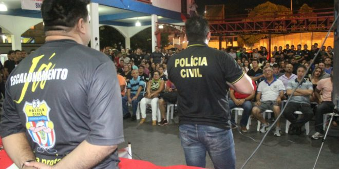 No Amazonas, Polícia Civil inicia movimento grevista