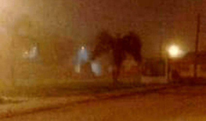 'Anjo da morte' aparece em foto viral que está intrigando internautas