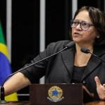 Senadora Fátima Bezerra culpa mídia pela 'criminalização' da esquerda