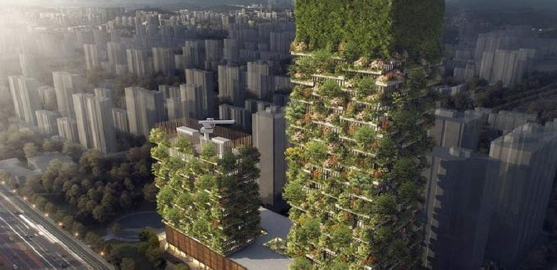 China terá sua primeira floresta vertical