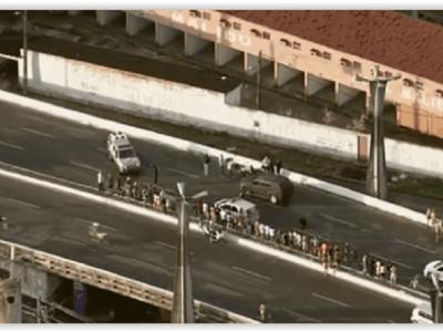 Assalto a transportadora de valores termina em tiroteio no Recife