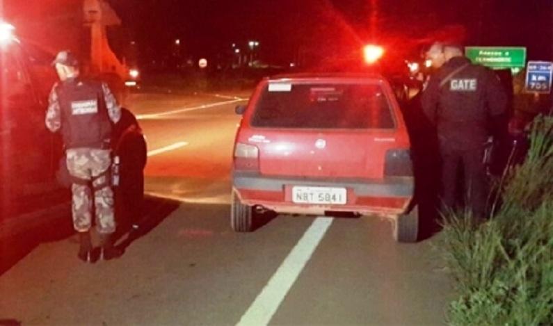 Suspeito fica ferido durante tiroteio com policiais da COE, em Porto Velho