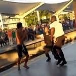 Segurança da Supervia agride ambulante que cai em plataforma na estação Maracanã, no Rio de Janeiro; vídeo