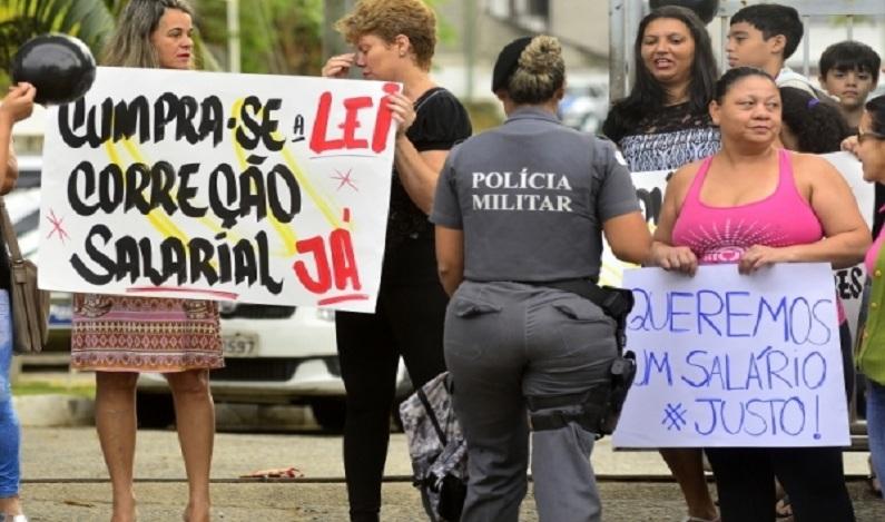 Justiça decreta ilegalidade de movimento de policiais no ES