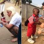 Um ano depois, menino abandonado por 'bruxaria' tem foto recriada na Nigéria