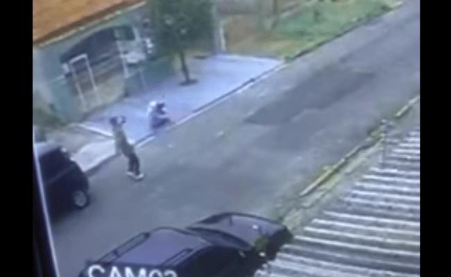 Vídeo mostra momento em que homem é assassinado após churrasco; assista