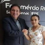 Presidente da Fecomércio-RO recebe a Deputada Marinha Raupp a vice-presidente da Comissão de Viação da Câmara Federal