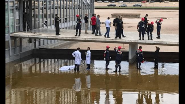 Funcionário morre ao cair do 19º andar do Congresso Nacional; vídeo com imagens fortes