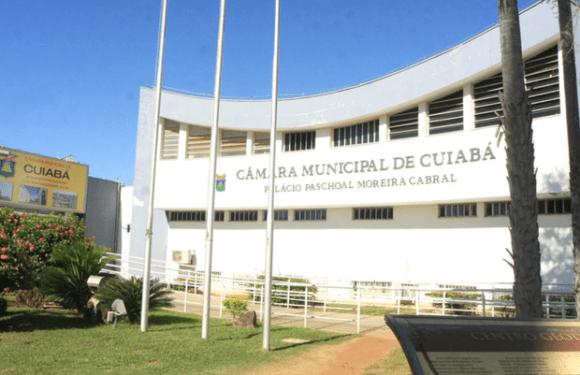 Bandidos invadem Câmara de Cuiabá e furtam gabinetes de vereadores