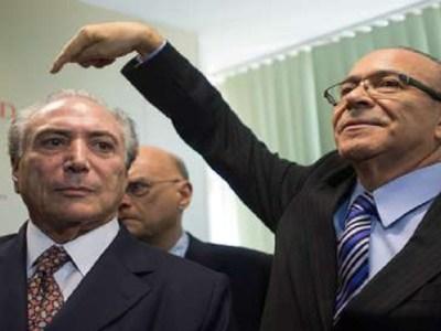 Andrade também apontou Padilha como operador do presidente