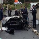 Pai e filho morrem após carro explodir sem razão aparente