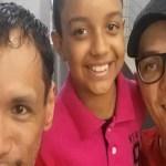 """Menino com dois pais afirma ser """"menino mais feliz do mundo"""" e comove redes sociais"""