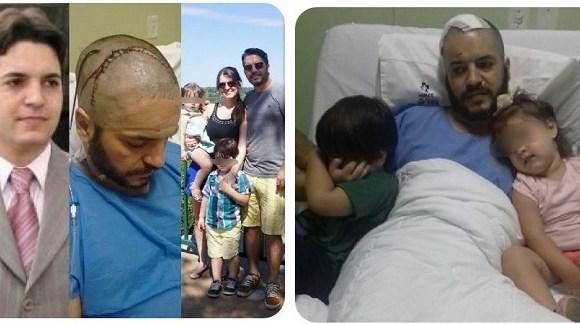 Advogado com tumor no cérebro precisa de ajuda para pagar tratamento