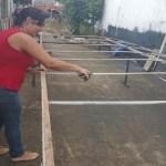 Professora desempregada monta serralheria para sustentar família, em Ji-Paraná (RO)Professora desempregada monta serralheria para sustentar família, em Ji-Paraná (RO)