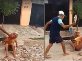 Travesti é espancada e morta por cinco homens em Fortaleza; imagens fortes